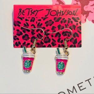 Betsey Johnson Style - Starbucks Coffee Earrings